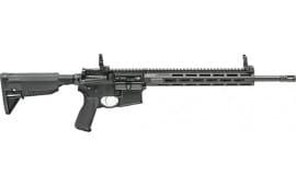"Springfield Armory ST916556BFFH Saint AR-15 Semi-Auto 16"" 10+1 6-Position Black Hardcoat Anodized"