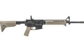 "Springfield Armory ST916556FDEL Saint AR-15 Semi-Auto 16"" 10+1 6-Position Flat Dark Earth Stock Black Hardcoat Anodized"