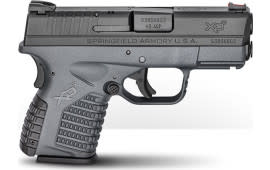 """Springfield Armory XDS93345YB XD-S Double 3.3"""" 5+1 Gray Polymer Grip Black Melonite"""