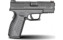 "Springfield Armory XDM9389B XD(M) Full Size Double 3.8"" 10+1 Black Polymer Grip Black Melonite"