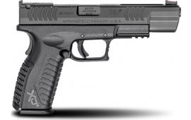 """Springfield Armory XDM95259B XD(M) Competition Double 5.25"""" 10+1 Black Polymer Grip Black Melonite"""