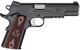 """Springfield Armory PX9116L18 1911 Loaded Single 5"""" 7+1 Cocobolo Grip Black Carbon Steel"""