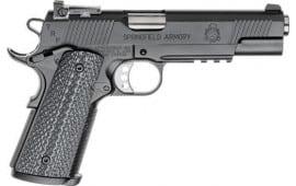 "Springfield Armory PC9105LCA18 1911 TRP *CA Compliant* Single 5"" 7+1 Black G10 Grip Black Carbon Steel"