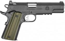 "Springfield Armory PC9510RMR18 1911 TRP RMR Single 5"" 8+1 Dirty Olive G10 Grip Black"