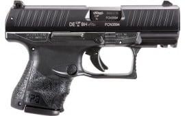 "Walther Arms 2815249 PPQ M2 Subcompact Single 3.5"" 15+1/10+1 Black Interchangeable Backstrap Grip Black"