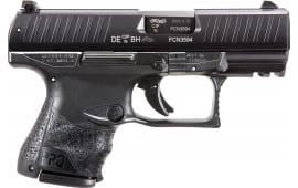 "Walther Arms 2829789 PPQ M2 Subcompact Single 3.5"" 10+1 Black Interchangeable Backstrap Grip Black"