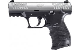 """Walther 5080501 CCP M2 3.54"""" FS 8-SHOT Stainless Black Polymer"""