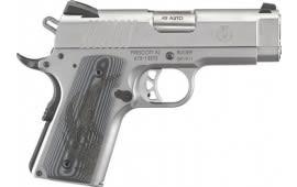 Ruger 6762 SR1911 FS 7-SHOT Officer Stainless G10 Grips