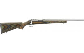Ruger 7218 77/17 .17WSM Stainless Green Mountain LAM. w/RINGS