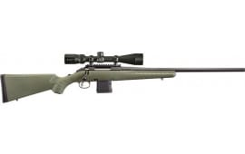 """Ruger 26951 American Predator Bolt 22"""" 10+1 Synthetic Moss Green Stock Black"""