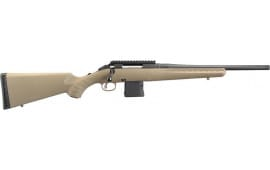 """Ruger 26968 American Ranch Bolt 16.12"""" 10+1 Synthetic Flat Dark Earth Stock Black"""