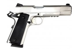 "SDS Imports 1911 Duty SS45 Pistol 5"" Barrel 45 ACP 8rd - Stainless Steel Finish - Upgraded Features - 1911DSS45R"