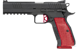 Dan Wesson 92011 DWX FO Light Rail Black/RED 10rd