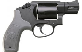 "Smith & Wesson 103039 M&P Bodyguard 38 Double 1.875"" 5rd Gray Polymer Grip Black Stainless Steel Revolver"