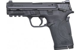 """Smith & Wesson 11663 M&P 380 Shield EZ Double 3.675"""" 8+1 Black Polymer Grip/Frame Grip Black Armornite Stainless Steel"""