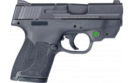 """Smith & Wesson 11903 M&P 9 Shield M2.0 Crimson Trace Laser Double 3.1"""" 7+1/8+1 Black Polymer Grip/Frame Grip Black Armornite Stainless Steel"""