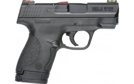 """Smith & Wesson 11905 M&P 9 Shield *CA Compliant* Double 3.1"""" 7+1/8+1 Black Polymer Grip/Frame Grip Black Armornite Stainless Steel"""