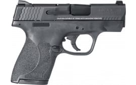 """Smith & Wesson 11807 M&P 9 Shield M2.0 *MA Compliant* Double 3.1"""" 7+1/8+1 Black Polymer Grip/Frame Grip Black Armornite Stainless Steel"""