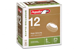 """Aguila 1CHB1286 12GA 2-3/4"""" 1OZ HV 8 - 25sh Box"""