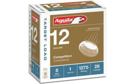 "Aguila 1CHB1328 12GA 2-3/4"" 1OZ 1275FPS #8 - 25sh Box"