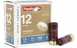 """Aguila 1CHB1282 12GA 2-3/4"""" 1-1/8OZ #7.5 - 25sh Box"""