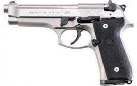 """Beretta JS92F510CA 92FS 4.9"""" FS 3-DOT 10-SHOT Inox CA Compliant"""
