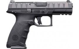 "Beretta JAX92070 APX RDO DA/SA 4.25"" 10+1 Black Interchangeable Backstrap Grip Black"