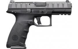 "Beretta JAX42070 APX RDO DA/SA 4.25"" 10+1 Black Interchangeable Backstrap Grip Black"