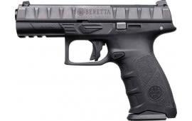 "Beretta JAX42170 APX RDO DA/SA 4.25"" 15+1 Black Interchangeable Backstrap Grip Black"