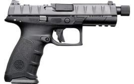 "Beretta JAXF920701 APX Combat DA/SA 4.9"" 10+1 Black Interchangeable Backstrap Grip Black"