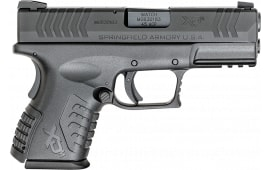"""Springfield Armory XDM93845CBHC XD(M) Compact Double 3.8"""" 9+1/13+1 Grip Extension Black"""