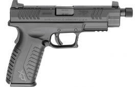 """Springfield Armory XDMT94545BHC XD(M) Full Size Threaded Double 4.5"""" 13+1 Black Polymer Grip Black Melonite"""