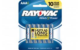 Rayovac 8246F Battery 1.5V Alkaline AAA 6PK