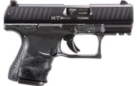 "Walther Arms 2815249 PPQ M2 9mm Subcompact Single 3.5"" 15+1/10+1 Black Interchangeable Backstrap Grip Black"