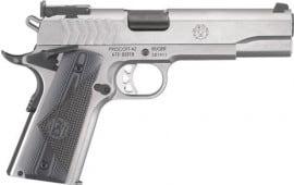 """Ruger 6759 SR1911 Target Single 5"""" 9+1 Black G10 Grip Stainless Steel"""