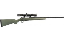 """Ruger 26954 American Predator Bolt 18"""" 3+1 Synthetic Moss Green Stock Black"""