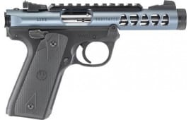 "Ruger 43917 Mark IV 22/45 Lite Single 4.4"" 10+1 Black Polymer Grip Gray Anodized Aluminum"