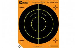 Caldwell Shooting 195781 Sight In Target 16 in Black and Orange 10pk