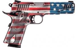 "Taurus 1191101USFLAG 1911 5"" FS 8-SH Cerakote US Flag (TALO)"