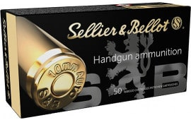Sellier & Bellot SB10B 10MM 180 Jacketed Hollow Point - 50rd Box