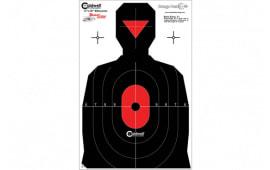 Caldwell Shooting 280341 Silhouette Dual Zone Target 25pk