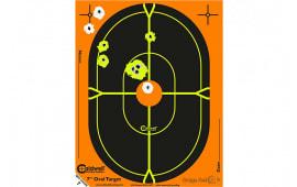 Caldwell Shooting 488789 Orange Peel Oval Target 18 in 5 sheets