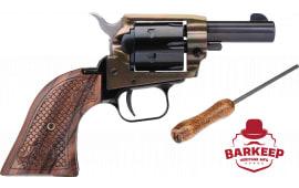 """HER BK22CH3WBRN10 Barkeep BK/CH 3"""" WB 19 SCR Revolver"""