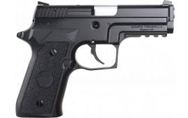 "Chiappa Firearms 440033 M27E Tactical DAO 3.9"" 15+1 AS Poly Grip Black"