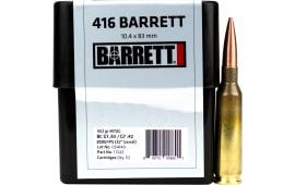 Barrett 17222 416 Barrett 452 GR Mtac - 10rd Box
