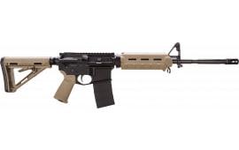 "Bushmaster 90687 XM-15 AR-15 Car MOE SA 223Rem/5.56NATO 16"" 30+1 FDE/Black"