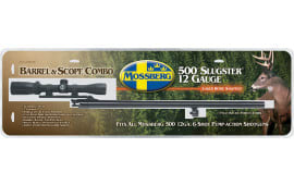 "Mossberg 95355 535 12GA 24"" Blued Scope Base with Scope"