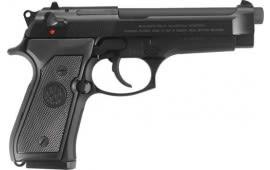 """Beretta JS92F390M 92FS 4.9"""" FS 3-DOT15rdBLUED/GRAY Italy"""