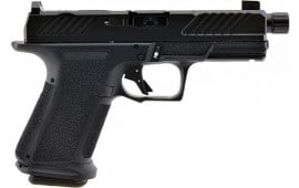 "Shadow Systems SS-1004 Semi Automatic Pistol 4"" Barrel 9mm , Two (2) 15 Round Magazines - Combat Optic CUT - Threaded DLC Barrel - MR920"