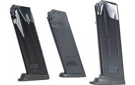 HK 207314S Magazine P2000 SK Sub Comp40 S&W Extra Floorplate 9rd Polymer Black